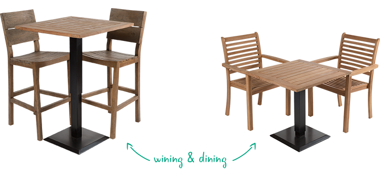 Now You Can Use The Same Table For Wining And Dining. And Wheelchair Users  Can Sit Comfortably At The Easy Lift Table ®. You Just Raise Or Lower The  Table ...
